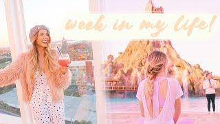 WEEK IN MY LIFE | Staycation at Disney & yoga at Volcano Bay! ✨