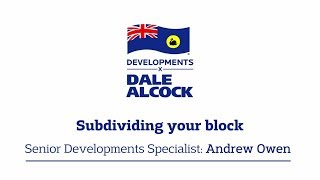 Subdivide with Developments by Dale Alcock