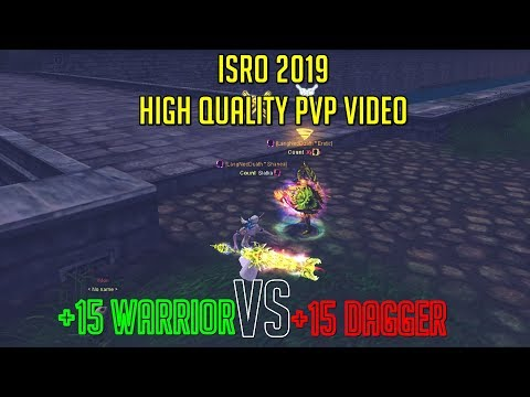 Silkroad Online 2019 -  High Quality PvP   Warrior/Warlock vs Rogue/Warlock