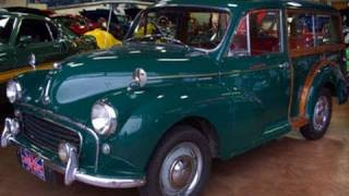 1960 Morris Minor 1000 Traveller Woodie Wagon