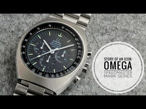 Story of an Icon: Omega Speedmaster Mark Series History