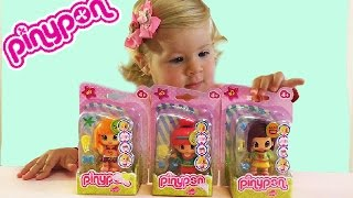 Распаковка Куклы Пинипон Серия Смайлик Pinypon dolls unpacking. Диана Шоу. Diana Show