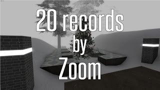 CS:GO BHOP - 20 HSW records by Zoom