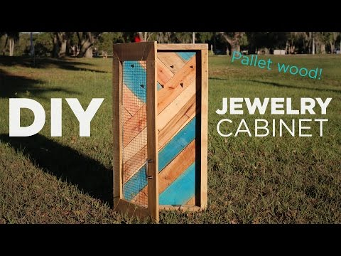 DIY Jewelry Wall Organizer and Display | Mike and Lauren