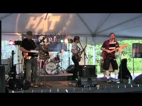 """The Risen plays Yardbirds' """"Smokestack Lightning"""" 2010-Jul-3"""