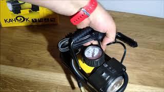 Набор автомобилиста, компрессор Качок Л90 LED, честный обзор