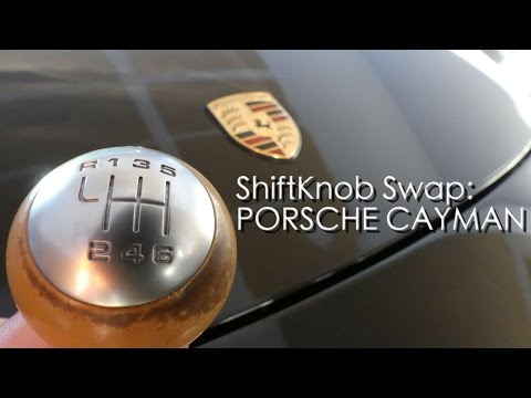 Changing the Shift Knob on the Porsche Cayman |How To|