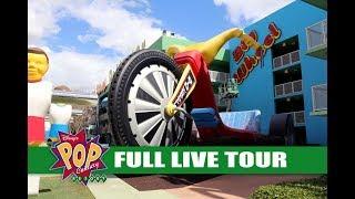Disney's POP Century Resort Full Live Tour and Walkthrough