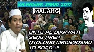 LUCU.! Usom Seiki Untu Dikawati, Seng Kate NyoLong Mrongosmu Lo Copo Wkkk Anwar Zahid November 2017