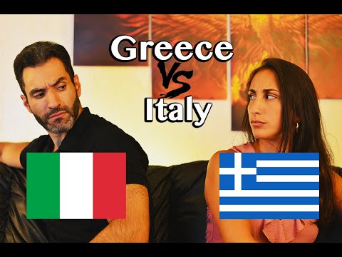 Italy VS Greece - Language Challenge