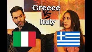 Italy VS Greece  Language Challenge