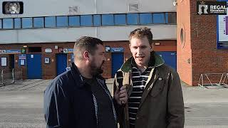 FAN CAM BLACKBURN 2 0 MILLWALL WHEN WE GET THE BALL WE 39 VE NO IDEA WHAT TO DO WITH IT