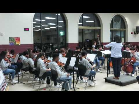 "Theme From ""Jurassic Park"" - Tucker Middle School Orchestra"