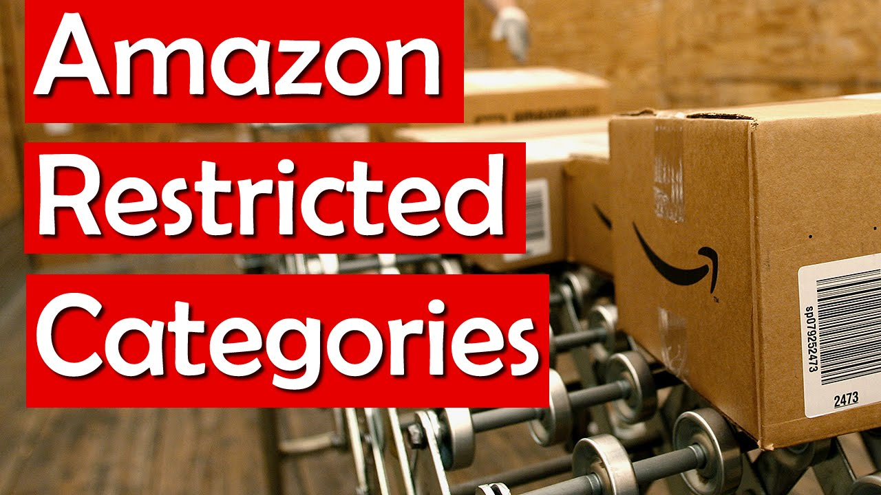 amazon restricted selling categories