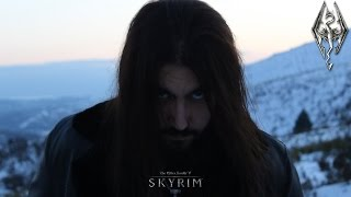 The Dragonborn Comes - Skyrim Bard Song and Main Theme Male Cover By Rober Fernández