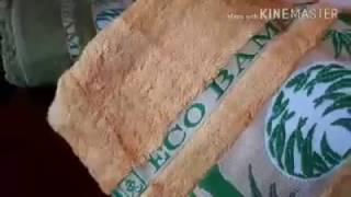 Видео-обзор. Бамбуковые полотенца. Sultana - Турция