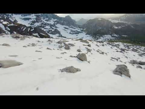 Mountains And Snow With A Drone | SNAPTAIN SP650 1080P Drone With Camera For Adults