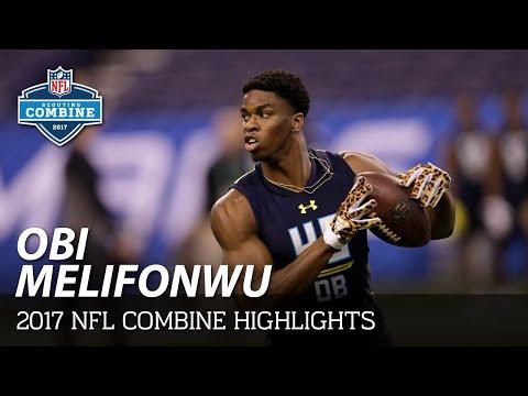 Obi Melifonwu (Connecticut, DB)   NFL   2017 NFL Combine Highlights