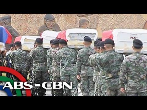 'Yolanda' breadwinners kabilang sa SAF na napatay