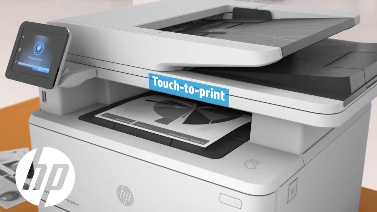 HP LaserJet Pro MFP M426fdw | Official First Look | HP - YouTube