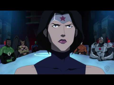 JUSTICE LEAGUE DARK Hall of Justice Clip