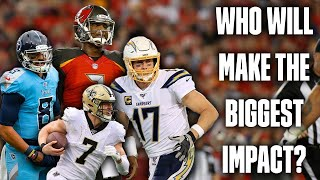 Which Free Agent QB Will Make The Bigge...