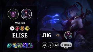Elise Jungle vs Kha'Zix - KR Master Patch 11.14