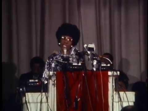 Shirley Chisholm: Declares Presidential Bid, January 25, 1972