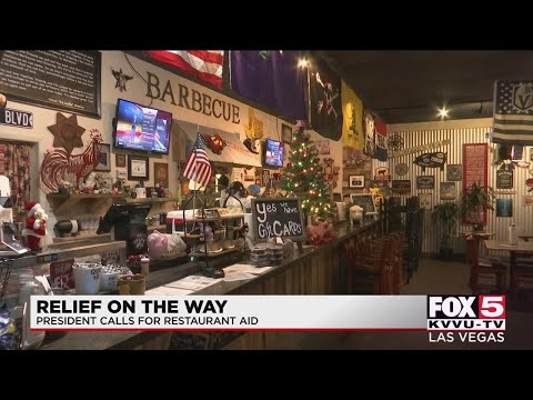 Las Vegas business owner shares thoughts on Trump rebuttal of federal relief bill