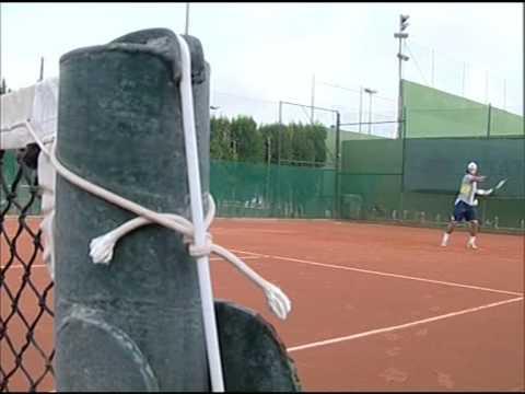 Rafael Nadal en Manacor. Noticia Antena 3 Televisión.