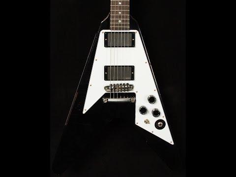 Gibson Custom Shop Kirk Hammett Aged Flying V  •  SN: HAMMETT035