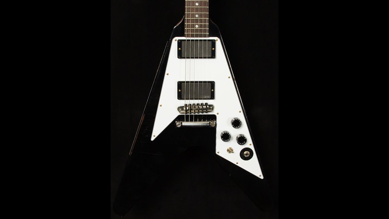 Gibson Custom Shop Kirk Hammett Aged Flying V • SN ...