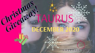 Taurus December Monthly General | Love Tarot Reading -  Love offer, new journey!