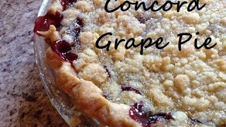 How To Make A Concord Grape Pie