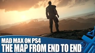 Mad Max PS4 Gameplay: The Map from End to End