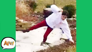 FAILING With COLD FEET! 😂 | Funniest Fails | AFV 2020