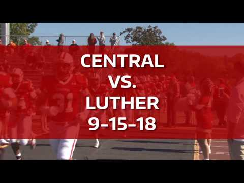 Central College-Luther College football highlights