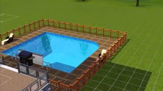 Sims 3 - Construction d'une maison luxueuse