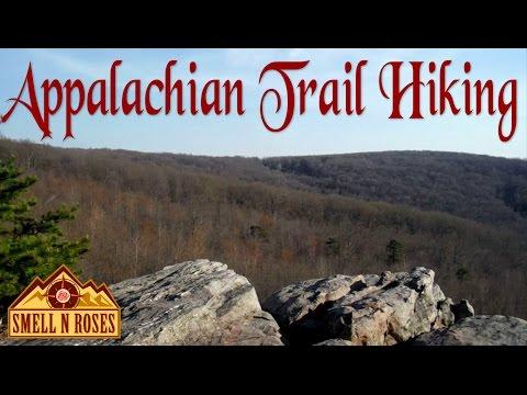 Hiking Appalachian Trail to Raven Rocks, West Virginia
