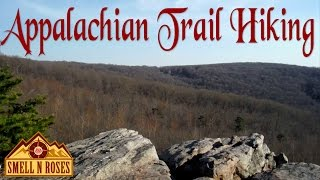 Hiking Appalachian Trail to Raven Rocks, West Virginia