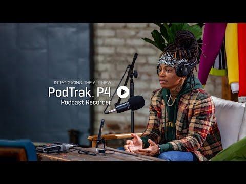 The Zoom PodTrak P4