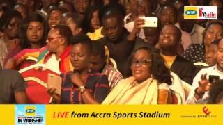 MTN Ghana Live Stream - Ghana Stands In Worship 2016