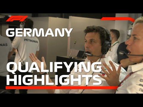 2018 German Grand Prix: Qualifying Highlights