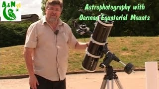 Astrophotography with German Equatorial Mounts