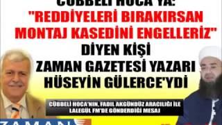 HÜSEYİN GÜLERCE Cübbeli Hoca'ya KASE...