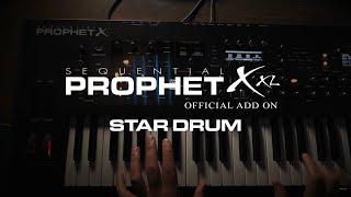 "DSI / 8Dio Sequential Prophet X Program: ""Star Drum"""