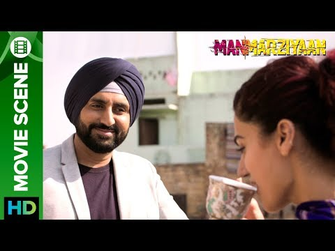 Abhishek Flirts with Taapsee - Aap Tinder Pe Ho? | Manmarziyaan