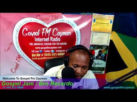 Gospel Jam / Bro Recardo On Air 345 321 9880 www.gospelfmcayman.com