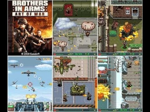 """""""Brothers in Arms: Art of War"""" – Gameloft (Java Game)"""