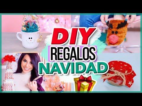 DIY REGALOS PARA NAVIDAD 2018 (F�ciles y r�pidos) Ideas �ltimo minuto Jimena Aguilar